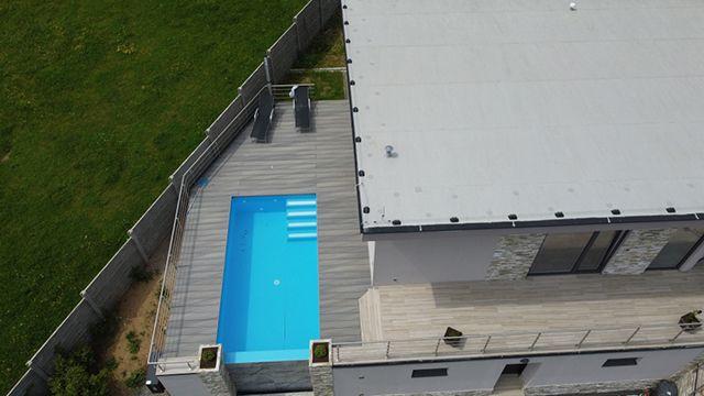 Dřevoplastová terasa světle šedá BambooGard Xpander
