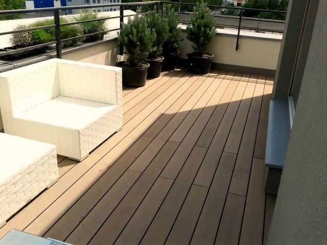Realizace wpc terasy v bytové novostavbě